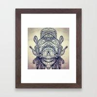 EYE (see) YOU Framed Art Print