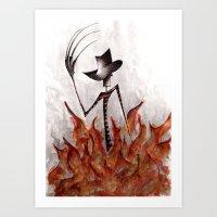 Nightmare On Elm Art Print