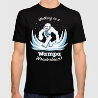 Walking In A Wampa Wonde… Mens Fitted Tee Black SMALL