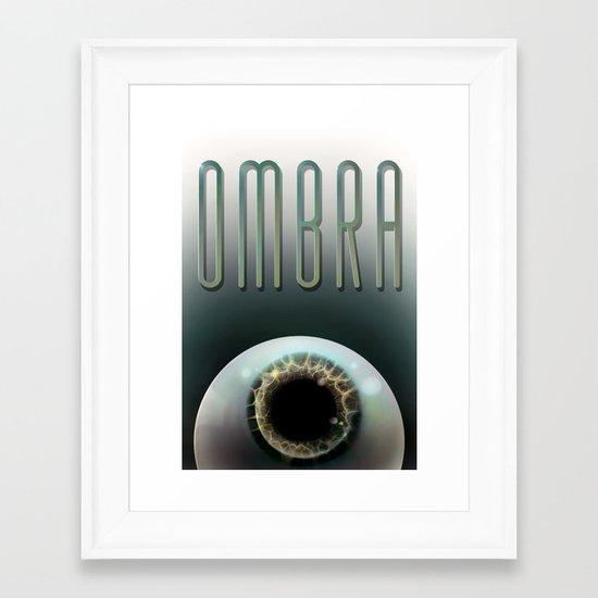 Ombra Framed Art Print