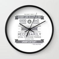 Good Things & Bad Things… Wall Clock