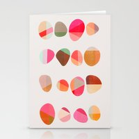 Painted Pebbles 5 Stationery Cards