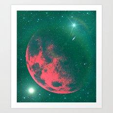 Cosmic Race. Art Print