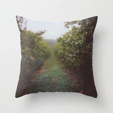 Orchard Row Throw Pillow