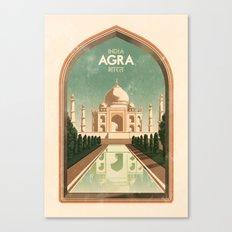 India - Agra Canvas Print