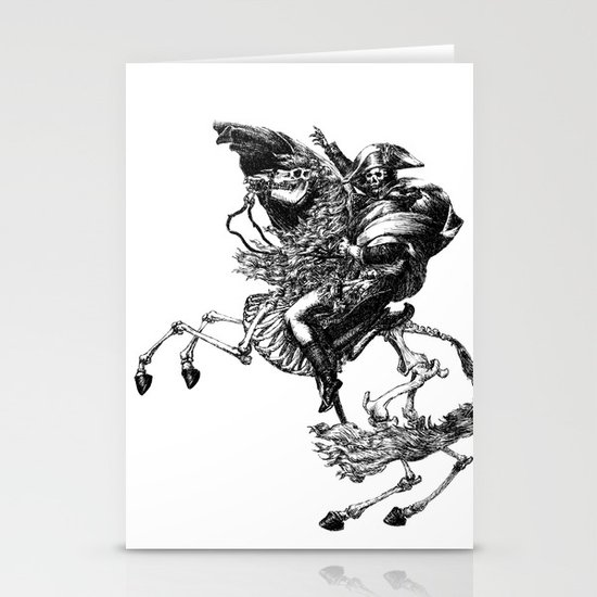 Napoleon Bonaparte Stationery Card