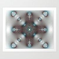 AbFrac14 abstract fractal Art Print