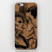 Marla & Tyler doodle iPhone & iPod Skin