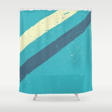 STREET SLANG / Stripes 2 Shower Curtain
