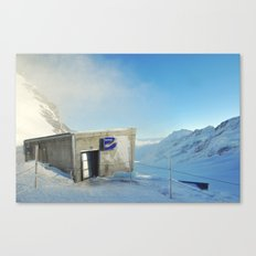 Top of Europe  Canvas Print