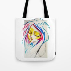 calm rebellion  Tote Bag