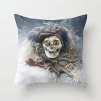 The Beauty Of The Long-D… Throw Pillow