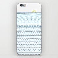 Sea Lover iPhone & iPod Skin