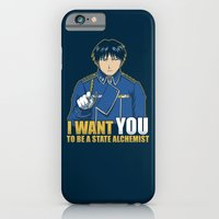 I Want You to be a State Alchemist iPhone 6 Slim Case