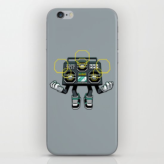 Rise And Amplify iPhone & iPod Skin
