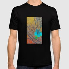 Caught Mens Fitted Tee Black SMALL