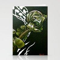 Kiokio - Unfolding Fern Stationery Cards