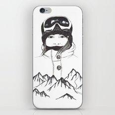 Mountain Girl iPhone & iPod Skin