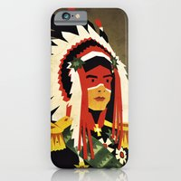 iPhone & iPod Case featuring General Chief by Yetiland
