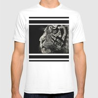 The Magnificent (Tiger) Mens Fitted Tee White SMALL