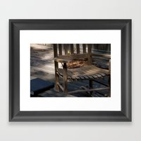 A Place To Study Framed Art Print