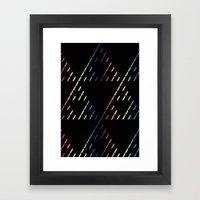 Sierpinski Triangles Framed Art Print