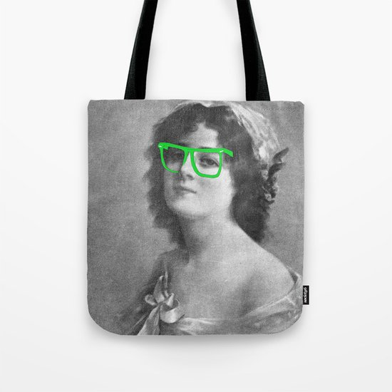 Josephine is a Hipster Tote Bag