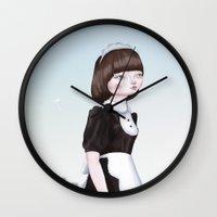 Air Doll Wall Clock