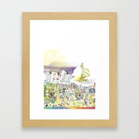 you're COLOR - Page 5 Framed Art Print