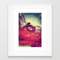 Of Your Own Doing Framed Art Print