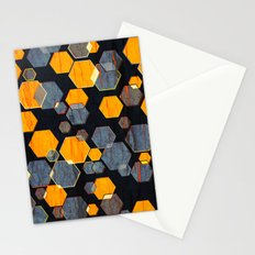 construct hex v3 Stationery Cards