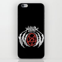 HAHAWOWSATANLOL iPhone & iPod Skin