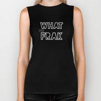 what the frak Biker Tank