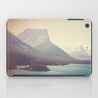 Retro Glacier iPad Case