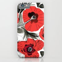 iPhone & iPod Case featuring Watercolor Floral 02 by Crystal ★ Walen
