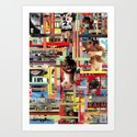Visual Sequence #006 Art Print
