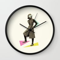 Shapely Figure Wall Clock