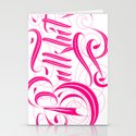 Bullshit Hot Pink Stationery Cards