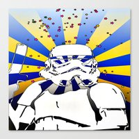 Psychedelic Trooper 2 Canvas Print