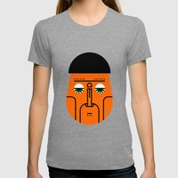 01 Womens Fitted Tee Tri-Grey SMALL