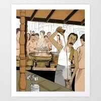 Coffee Man Art Print