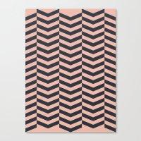 Pattern LP Canvas Print