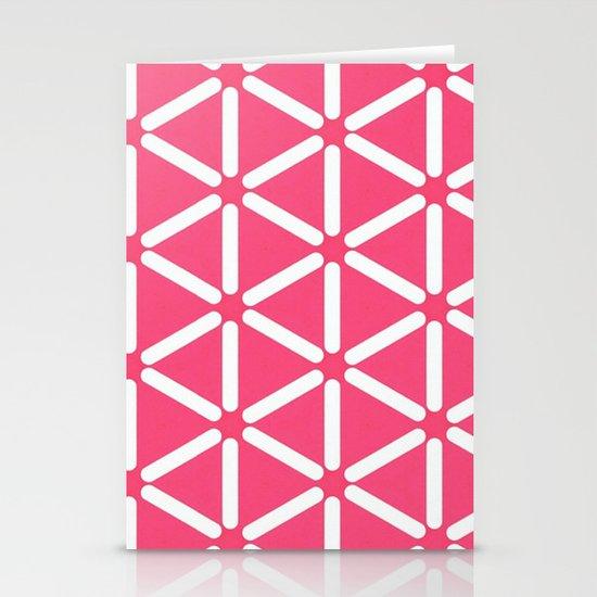 Wildeman Pink Stationery Card