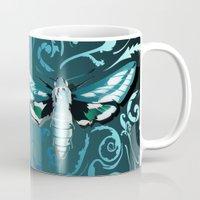 Tangled Moth Mug