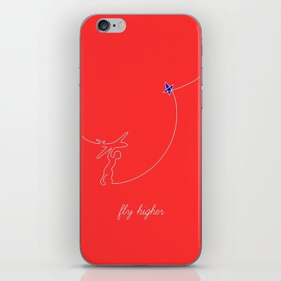 Fly higher iPhone & iPod Skin
