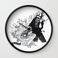 GOD IS A DJ Wall Clock
