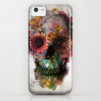 iPhone 5c Cases featuring SKULL 2 by Ali GULEC