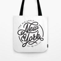 New York - White Tote Bag