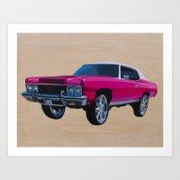 Chevrolet Caprice Donk Art Print