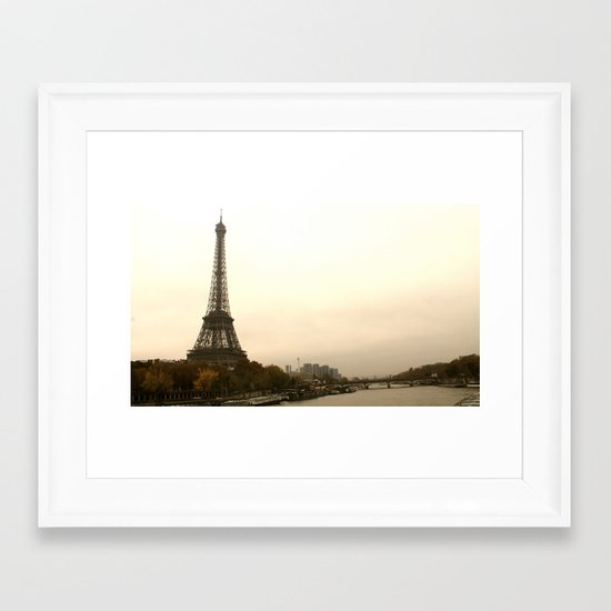 Do you see it? Framed Art Print